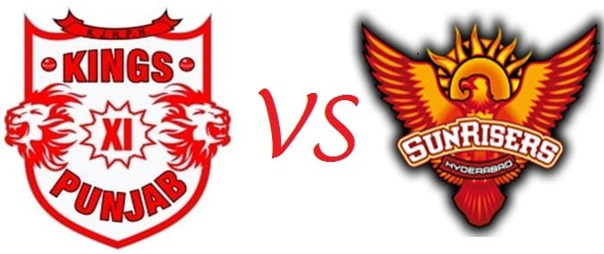 KXIP vs SRH Live Streaming 16th Match Preview 19 April 2018