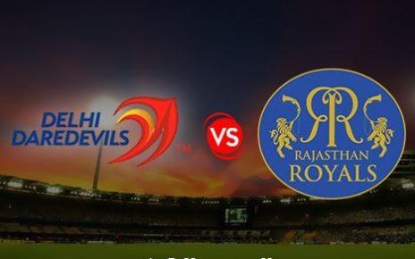 RR vs DD Live Streaming 6th Match IPL 2018