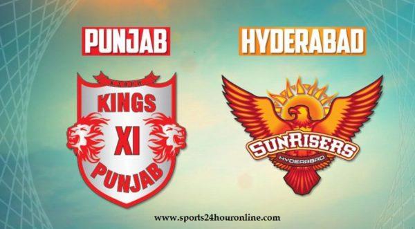 SRH vs KXIP Live Streaming 25th Match of IPL 2018 - Sunrisers Hyderabad vs Kings XI Punjab