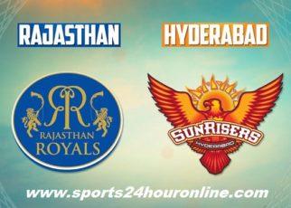 RR vs SRH Live Streaming 29 April 2018 - Rajasthan Royals vs Sunrisers Hyderabad