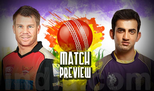 KKR vs SRH Live Streaming 10th Match of IPL 2018