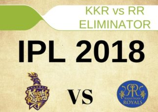 KKR vs RR Live Streaming Eliminator Match of IPL 23 May 2018