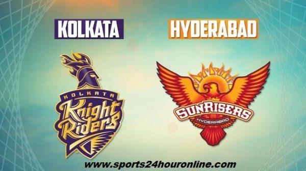 SRH vs KKR Live Streaming Today Indian Premier League Match