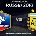 France vs Argentina Live Broadcast FIFA World Cup 2018, Live Stream, Venue, Kick Off Time
