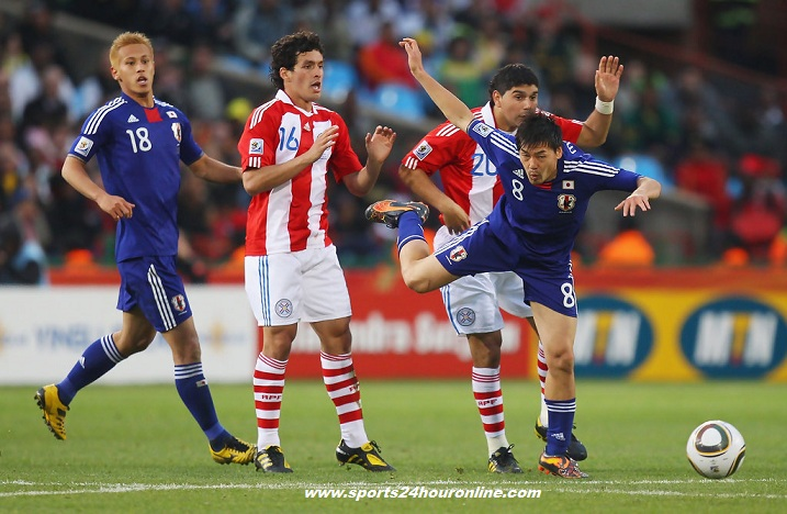 Japan vs Paraguay Live Streaming Friendlies Football Match 2018
