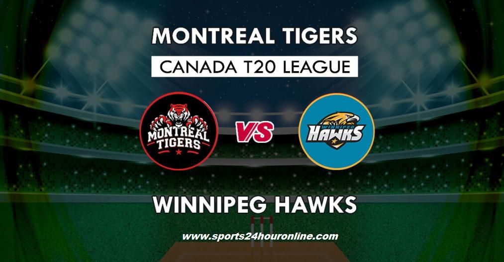 MNT vs WPH Live Telecast Global T20 Canada, 2018 - Montreal Tigers vs Winnipeg Hawks