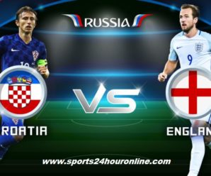 Croatia vs England Live Streaming Semi Final FIFA World Cup 2018