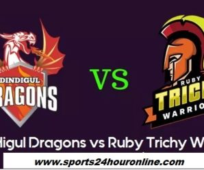 DDD vs RTW First Match of Tamil Nadu Premier League 2018 – Dindigul Dragons vs Ruby Trichy Warriors