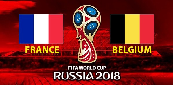France vs Belgium Semi Final Live Stream of FIFA Football World Cup 2018