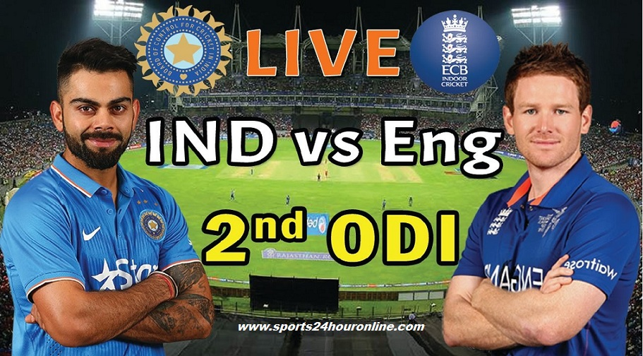 IND vs ENG Live Streaming 2nd ODI - India Tour of England 2018