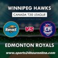 WPH vs EDR Live Streaming Eliminator – Global T20 Canada 2018