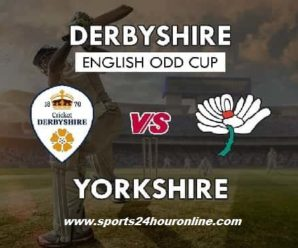 Yorks vs Derby Live Streaming North Group T20 Blast 2018