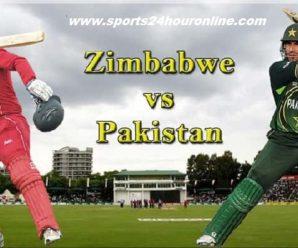ZIM vs PAK Live Streaming First ODI – Pakistan tour of Zimbabwe, 2018