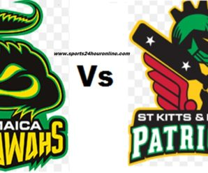 JT vs SNP Live Streaming CPL 2018 – Jamaica Tallawahs vs St Kitts and Nevis Patriots