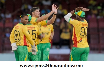 STS vs GAW Live Streaming 15th Match of Caribbean Premier League 2018
