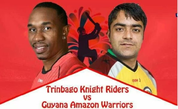 GAW vs TKR Live Streaming 30th Match of Caribbean Premier League 2018