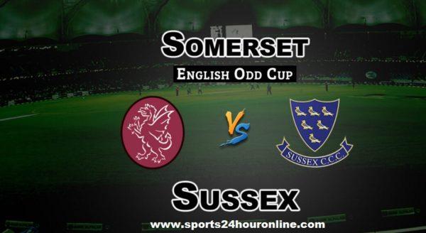 SUS vs SOM Live Streaming 2nd Semi Final T20 Blast 2018 - Sussex vs Somerset