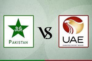 Pakistan Vs United arab emirates
