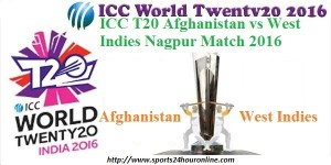 Afghanistan vs west indies live cricket match