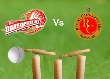 Vivo IPL 2016 : Daredevils vs Royal Challengers Live Cricket Match Score | Live Streaming