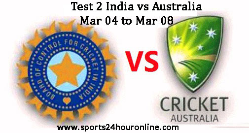 Live Streaming of India vs Australia
