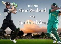 New Zealand vs South Africa ODI