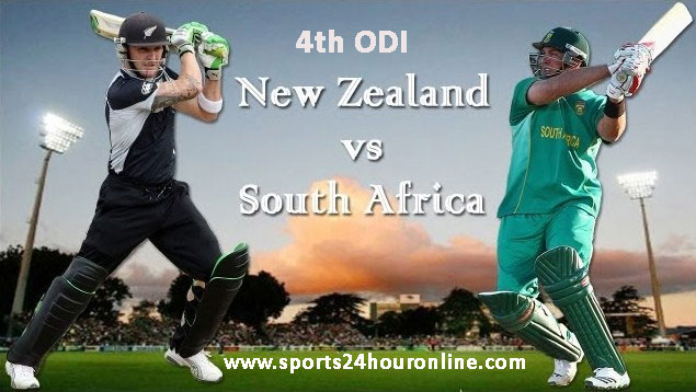NZ vs SA 4th ODI Live Streaming