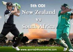 NZ vs SA 5th ODI