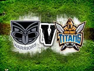 Titans vs Warriors
