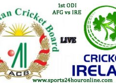 AFG vs IRE 1st ODI Live Cricket Streaming