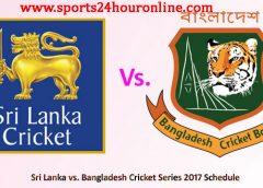 Bangladesh tour of sri lanka