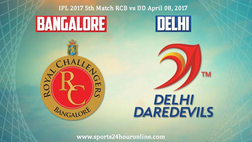 RCB vs DD 5th Match
