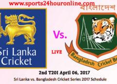 SL vs BAN 2nd T20