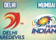 DD vs MI Cricket Score