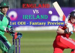 ENG vs IRE 1st ODI