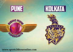 KKR vs RPS Today Live IPL Match