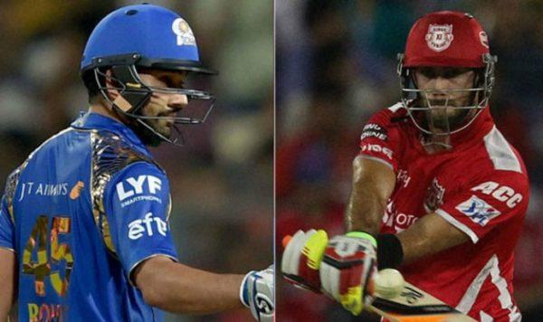 MI vs KXIP Today Live IPL