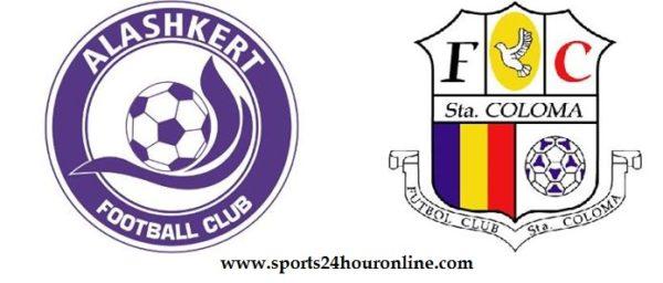 Alashkert vs FC Santa Coloma