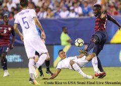 Costa Rica vs USA