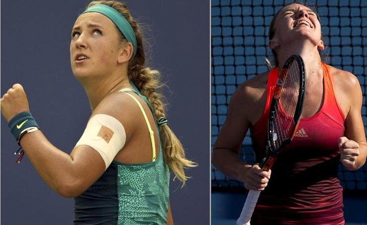 Victoria Azarenka vs Simona Halep