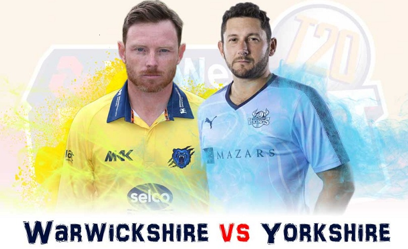 Warwickshire vs Yorkshire Live Streaming