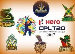 Full Team Squads CPL