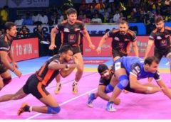 Gujarat Fortunegiants vs Dabang Delhi