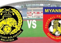 myanmar vs malaysia Live streaming today football match