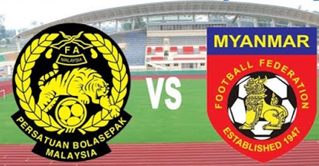 myanmar vs malaysia Live streaming today football match