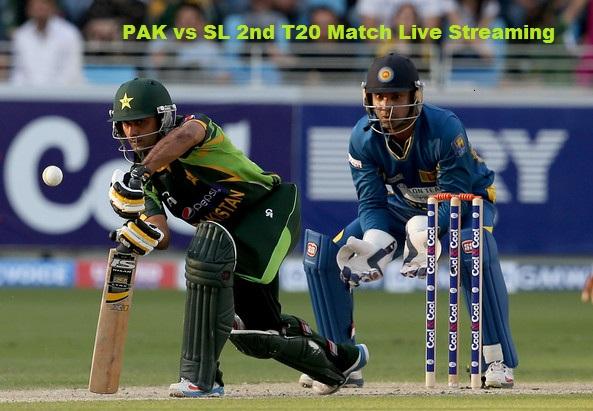 PAK vs SL 2nd T20 Live Streaming
