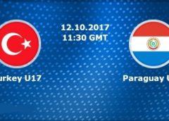 Turkey u17 vs Paraguay u17 Live Streaming FIFA U-17 World Cup 2017 Today Match