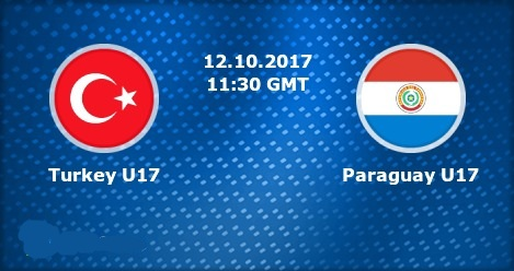 Turkey u17 vs Paraguay u17 Live Streaming FIFA U-17 World Cup 2017 Today Match