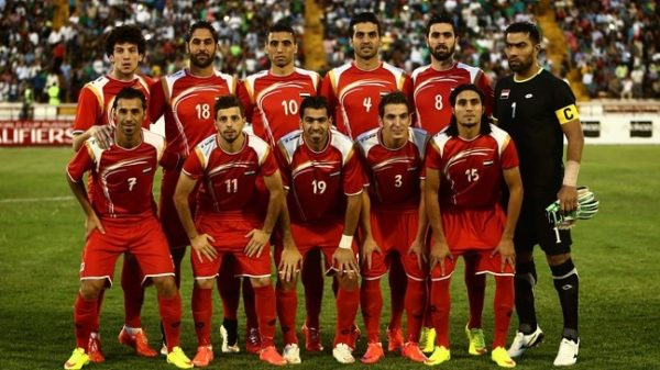 Iraq vs Syria today live soccer match