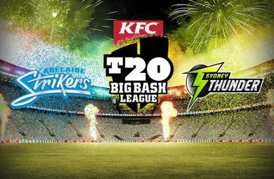 Network Ten Live Broadcast ADS vs SYT Match - Big Bash League 2017-18